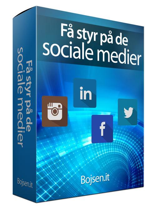 Få virksomheden på de sociale medier